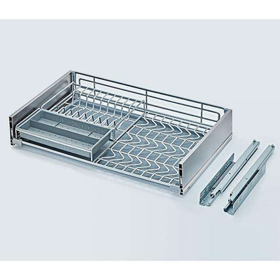 EXCEL Bene Three-sided Stainless Steel Basket