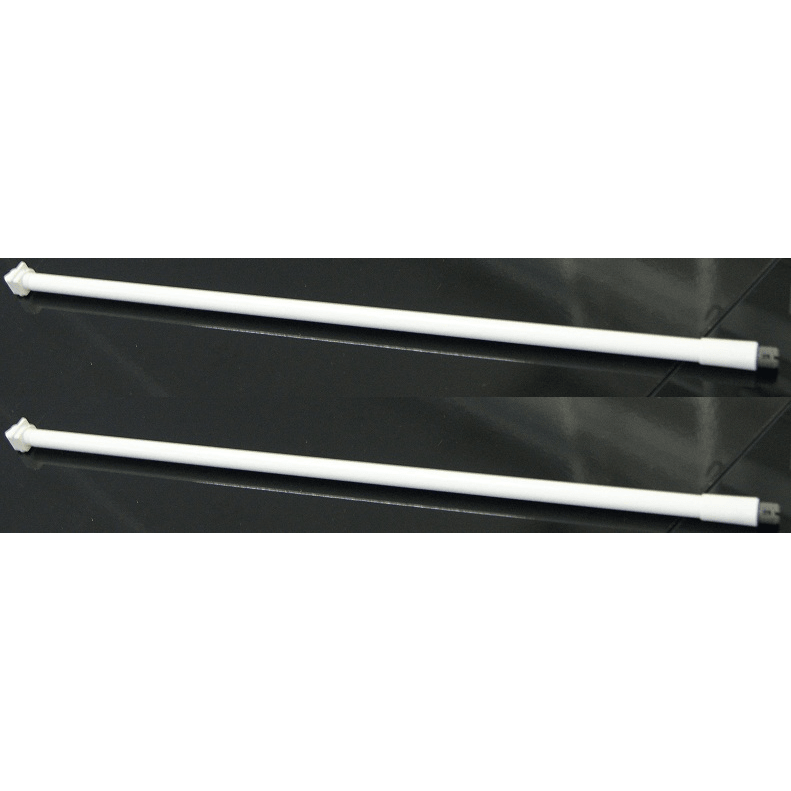 500MM SIDE ROD,WHITE,FOR D/F S