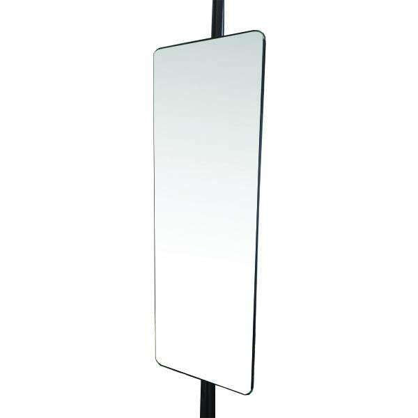 EXCEL - EXTENDABLE FLEXI MIRROR C/W SOFT CLOSING SLIDES-BK