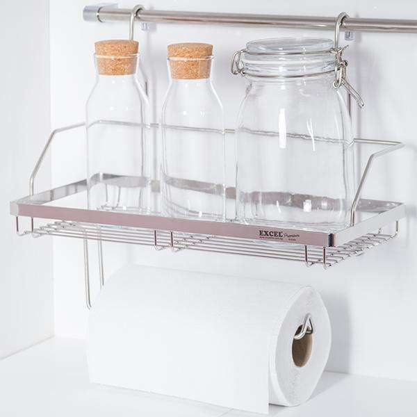 ITALIAN Series Sus304 2 Tier Spice & Cloth Rack