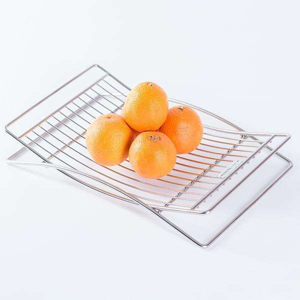 ITALIAN Series Sus304 D.I.Y. Standalone Arch Fruit Basket