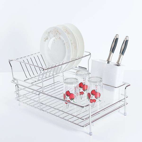 ITALIAN Series Sus304 D.I.Y. Standalone Dish Holder Basket