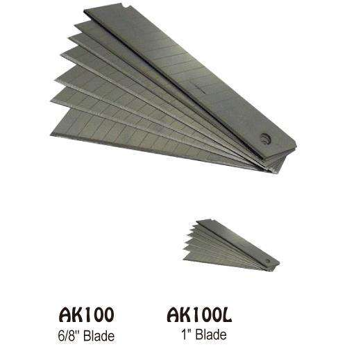 "KNIFE 1"" BLADE(10PCS/PKT)"