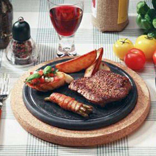 PAISTOKAS Vuolukiven Stone Serve On Table Cooking Platter