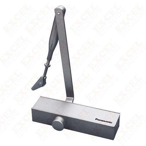 PANASONIC-DOOR CLOSER,FINISH:SILVER