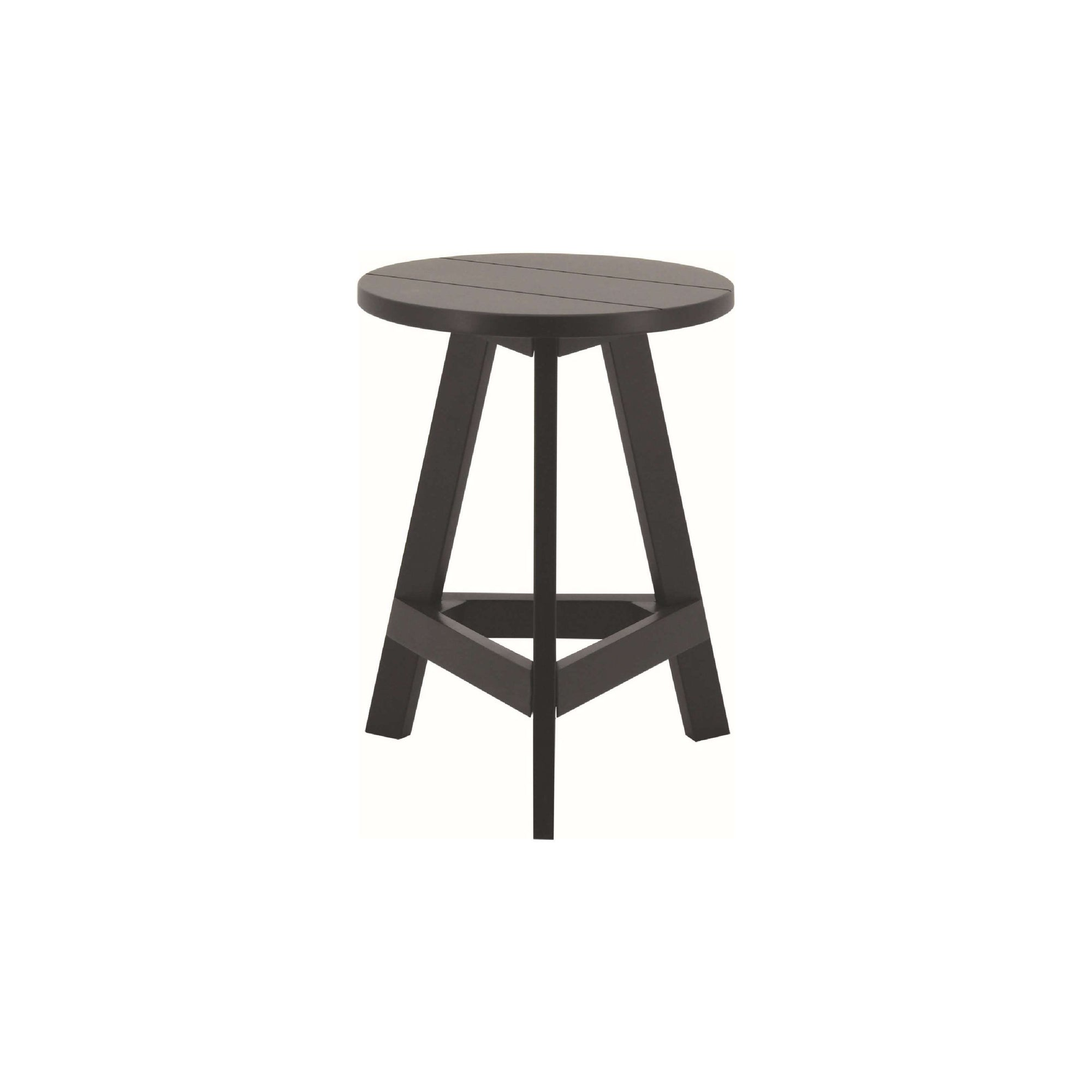 YUMI 4 X Stool in Black Colour