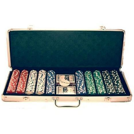 Poker Chip Set (500 Pieces)