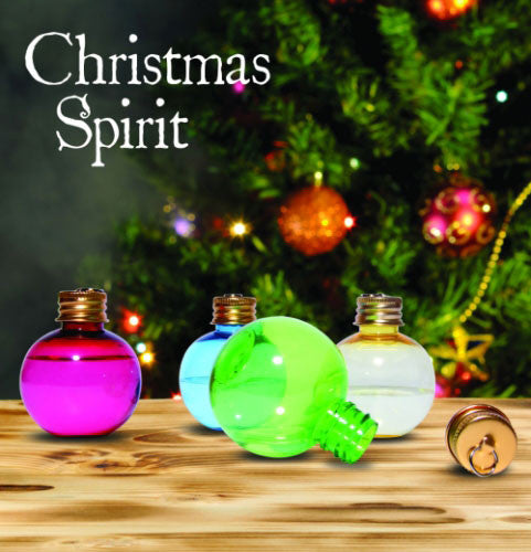 Christmas Spirit Flask Tree Decorations