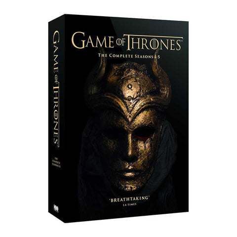 Game of Thrones - Season 1-5 DVD