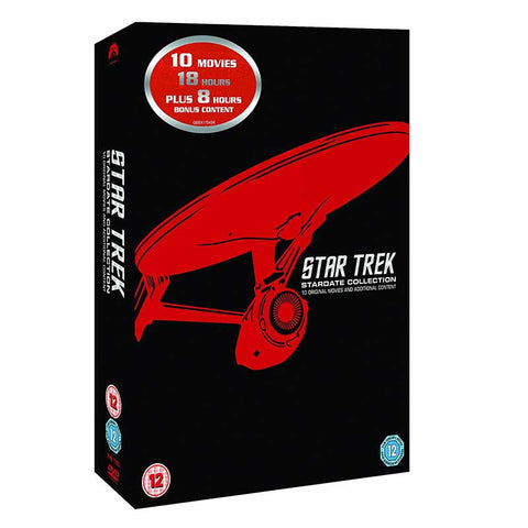 Star Trek: Stardate Collection - The Movies 1-10 (Remastered) DVD