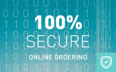 100 percent secure ordering