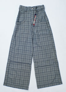 "The Camilla Jeans. 27"". Vintage Plaid."