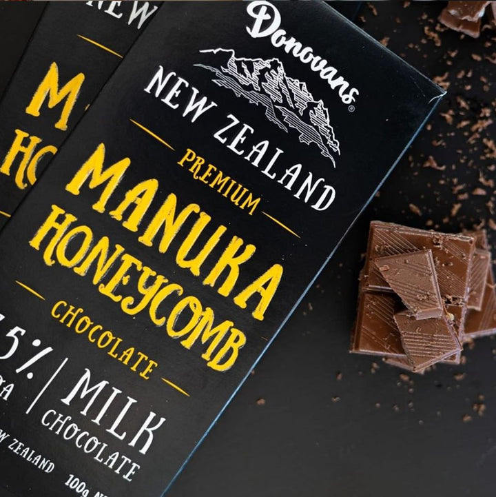 Manuka Honeycomb Chocolate Bar