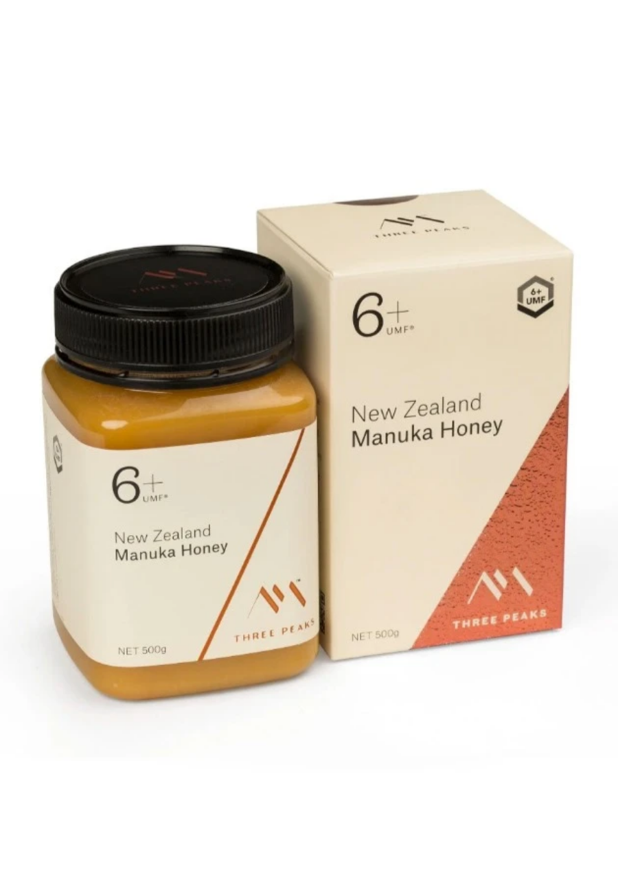 Three Peaks 6+ UMF Manuka Honey
