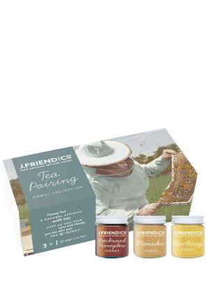 Tea Pairing Honey Collection Supplements & Vitamins by J Friend & Co