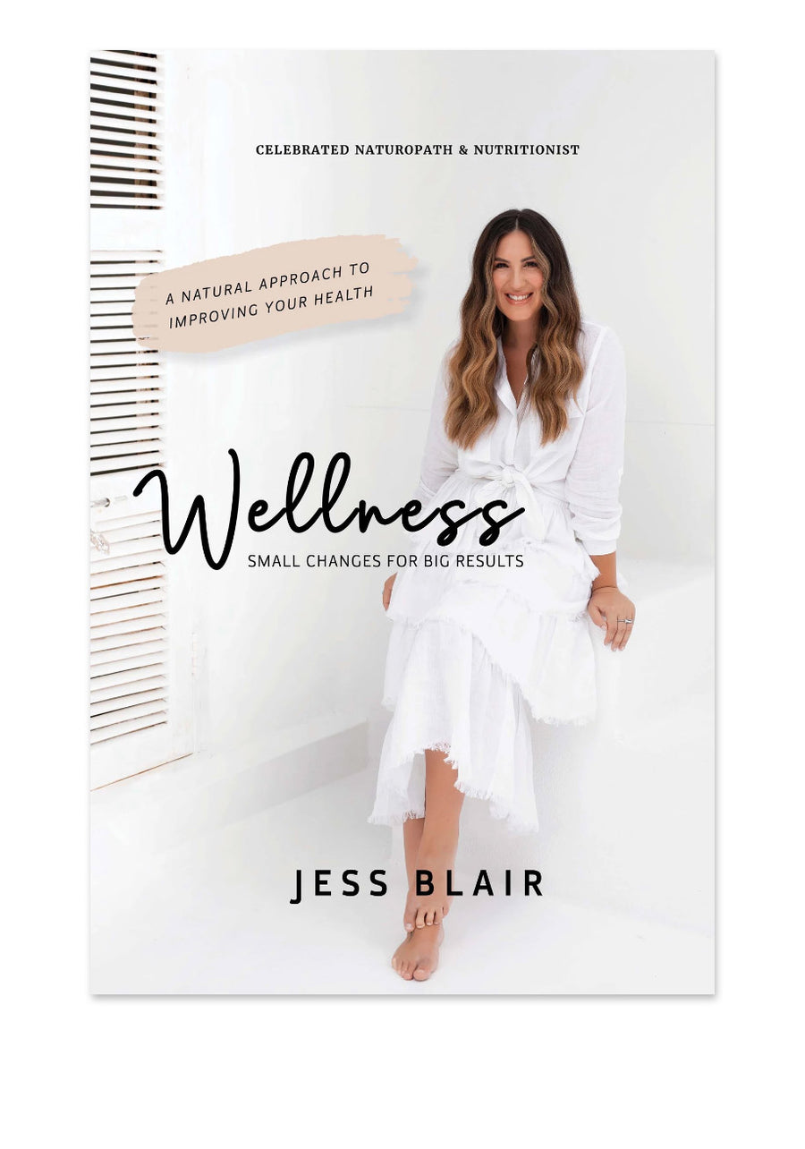 Welnness book by Jess Blair - a natural approach to everyday health - abeeco