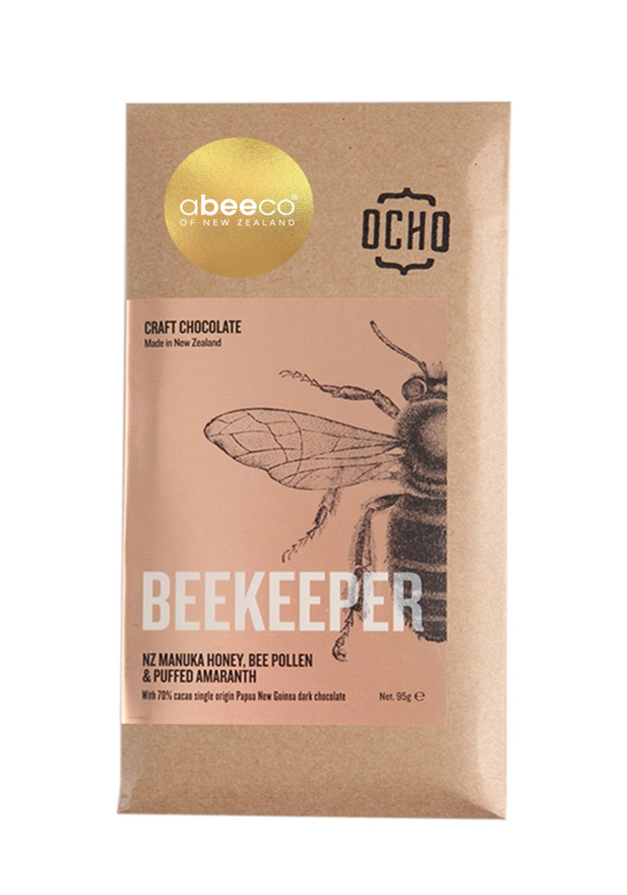 Beekeeper Manuka Honey Chocolate 95g Supplements & Vitamins by abeeco