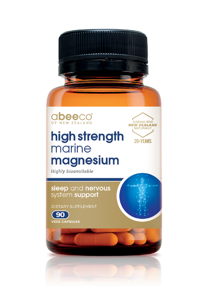 High Strength Marine Magnesium - Supplements & Vitamins - abeeco