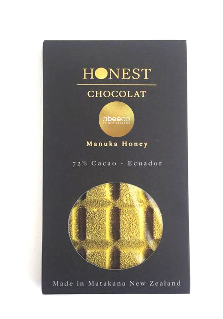 Manuka Honey Filled Tablet Chocolate 70g Supplements & Vitamins by abeeco