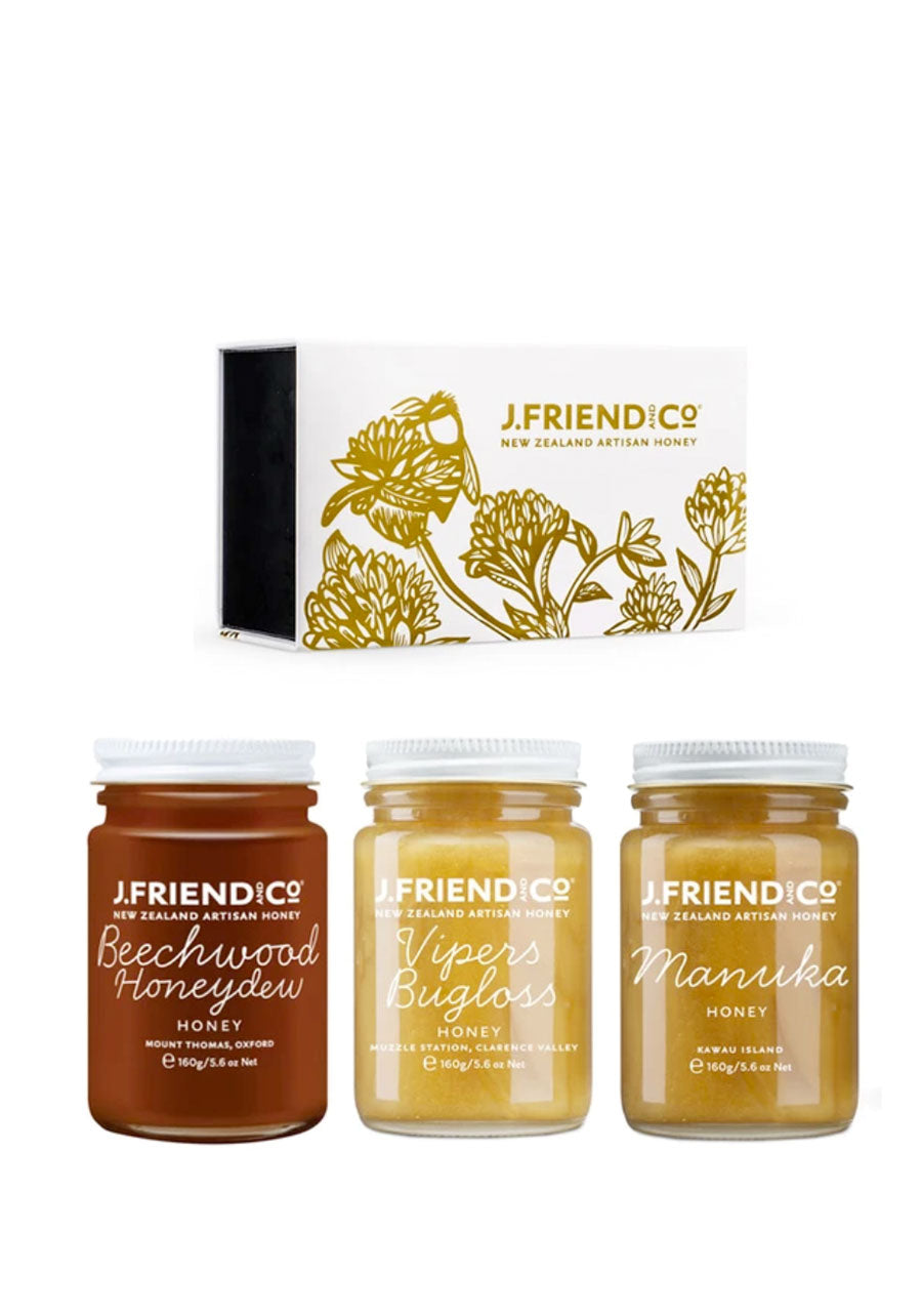Tea Pairing Honey Collection Large Supplements & Vitamins by J Friend & Co
