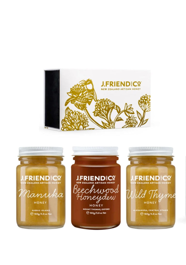 Dark and Rich Honey Collection Large Supplements & Vitamins by J Friend & Co