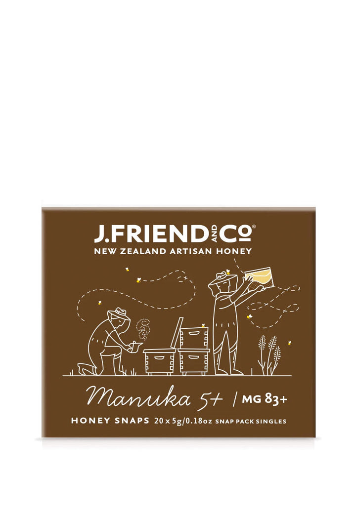 J Friend & co Manuka honey snappacks