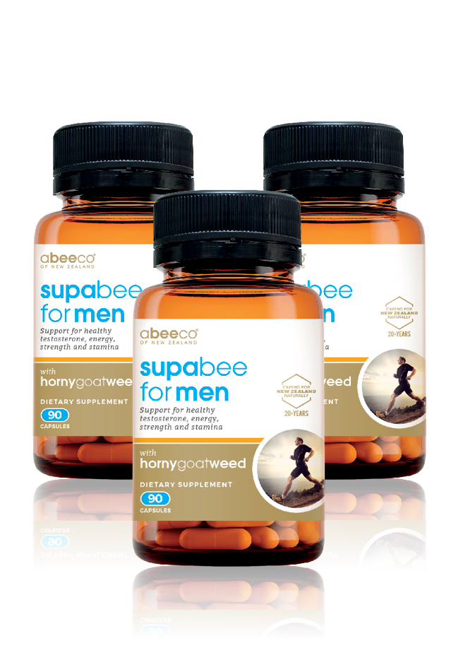 Supabee for Men MultiPack - Buy 2 Get the 3rd FREE - Supplements & Vitamins - abeeco