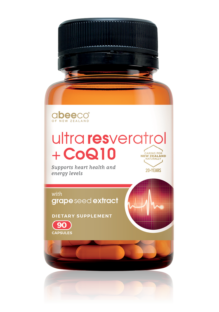 Ultra Resveratrol + CoQ10 - Supplements & Vitamins - abeeco