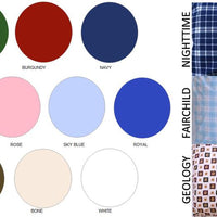 Color wheel for Twin XL T180 Bed Sheet Set