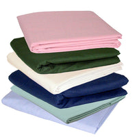 Twin XL T180 3 Piece Bed Sheet Set Stacked in multiple colors