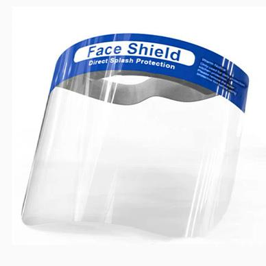 Direct splash protection, Light weight and Anti-Fog face shield