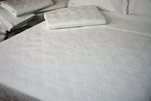 "Quilted Impressions Breezes Coverlet, 96"" x 98"""