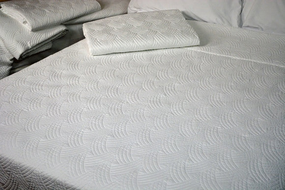 Quilted Impressions Breezes Coverlet, 96