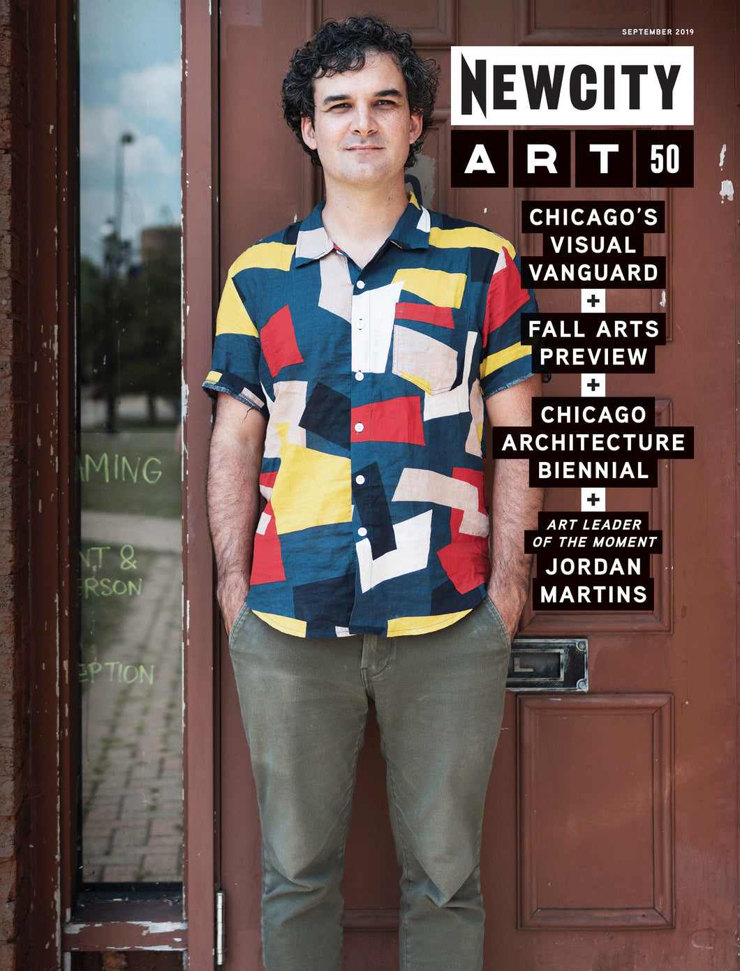 September 2019 Issue: Art 50 + Chicago Architecture Biennial + Fall Arts