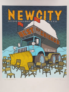 Newcity Best of Chicago Cover, Created by Jay Ryan (Signed Screenprinted Limited Edition)