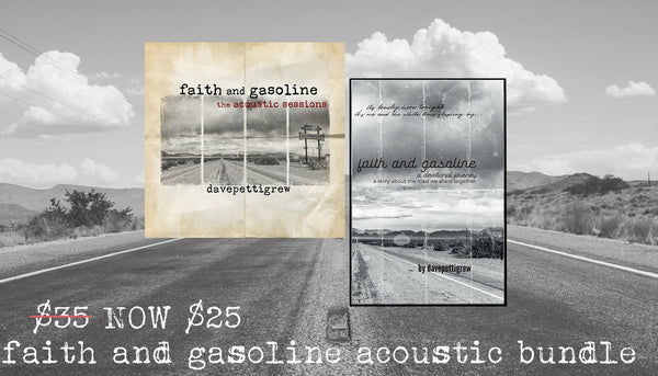 Faith And Gasoline Acoustic Book Bundle