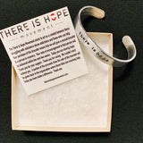 THERE IS HOPE - Give One Get One - Gift a bracelet to someone in recovery.
