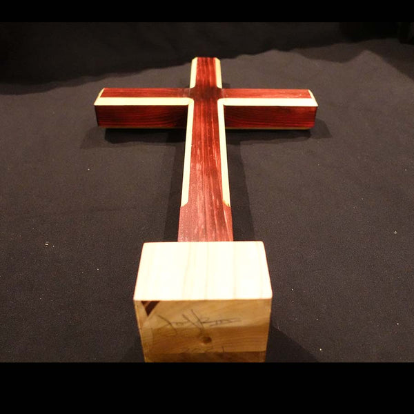 "Cross Collection - ""Almighty"" Handmade Wooden Cross - 3 colors"