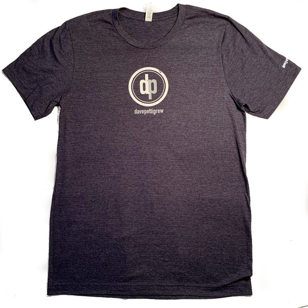 DP LOGO - Unisex - Heather Navy Blue T-Shirt