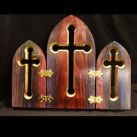 "Cross Collection - ""Easter"" Handmade Wooden Cross"