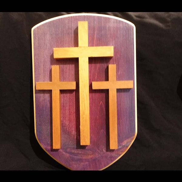 "Cross Collection - ""Golgotha"" Handmade Wooden Cross"