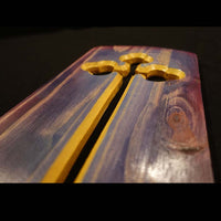 "Cross Collection - ""Holy One"" Handmade Wooden Cross"