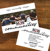 Monday Night Worship Communities Member Kit - STARTER EDITION