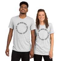 Hope Never Quits - Short sleeve t-shirt