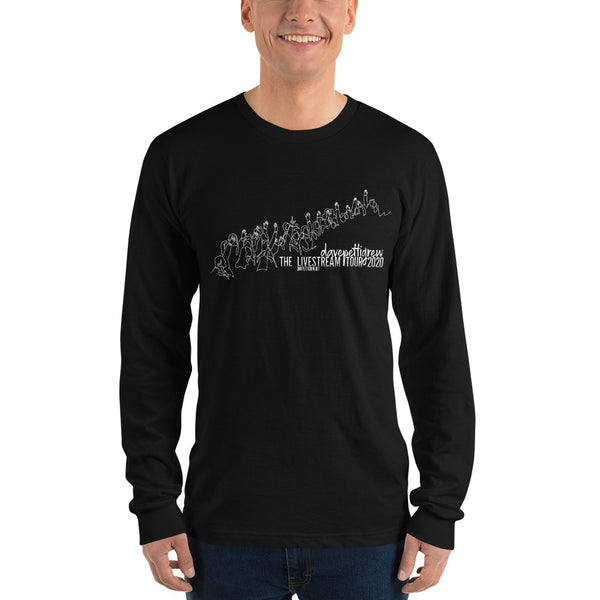 The Livestream Tour 2020 Official Long sleeve t-shirt