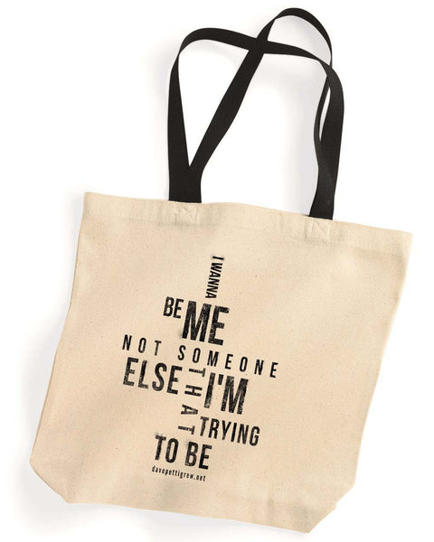 """Me"" Canvas Tote Bag - Backstage Collection (Limited Edition)"
