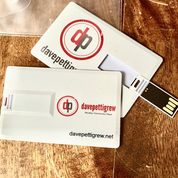 davepettigrew USB drive - includes all 12 albums!