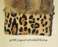 Load image into Gallery viewer, Red Fox Faux Fur Mittens