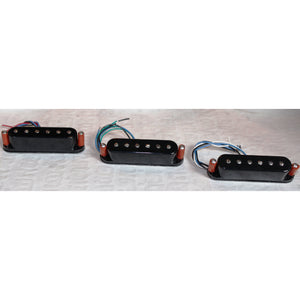 Micro-Coil S Set of Three: Black covers with adjustable pole pieces
