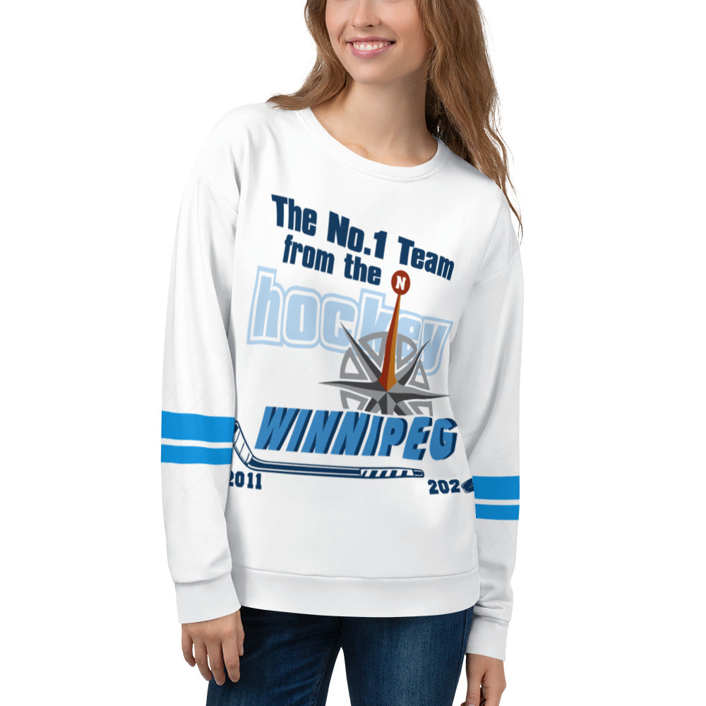 Hockey Men Women's Sweatshirt